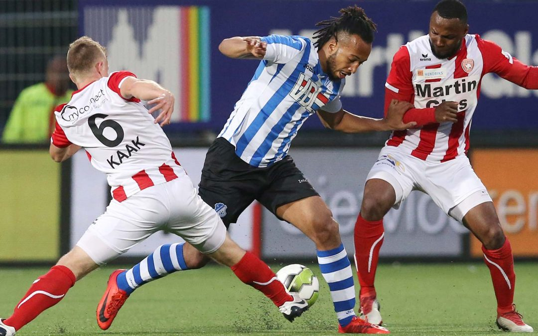 SLOTSTUK TEGEN FC EINDHOVEN EINDIGT IN 1-1