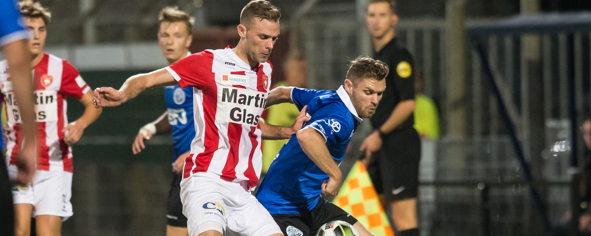 H. van Zandvoort Electrotechniek is wedstrijdsponsor tegen FC Den Bosch