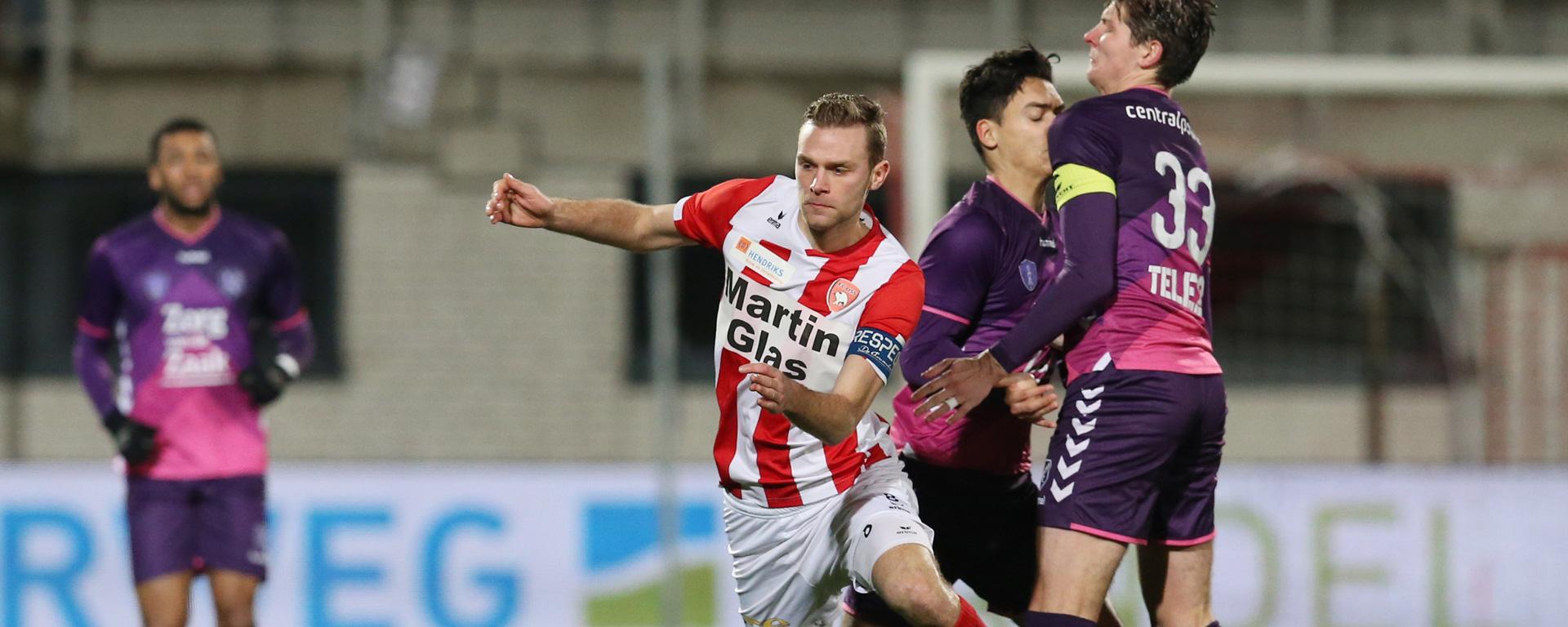 Mister Nelson is wedstrijdsponsor tegen Jong FC Utrecht