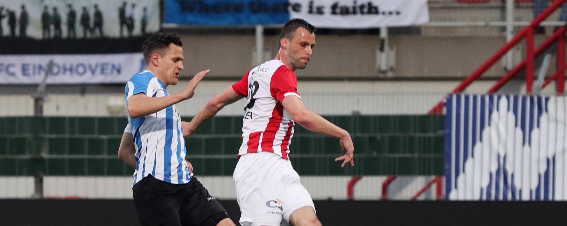Mister Nelson is wedstrijdsponsor tegen FC Eindhoven