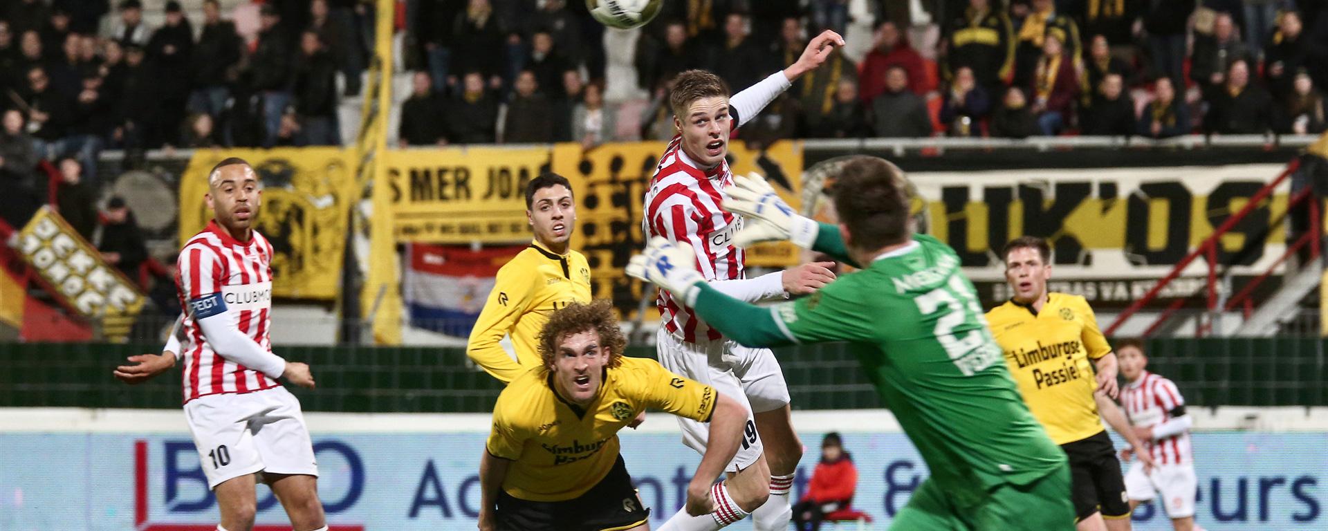 Gijsen Advies is wedstrijdsponsor tegen Roda JC