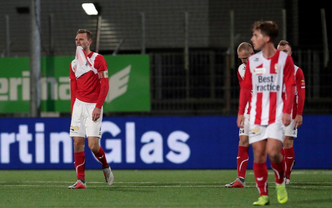 Gelijkspel tegen Helmond Sport voelt als een nederlaag