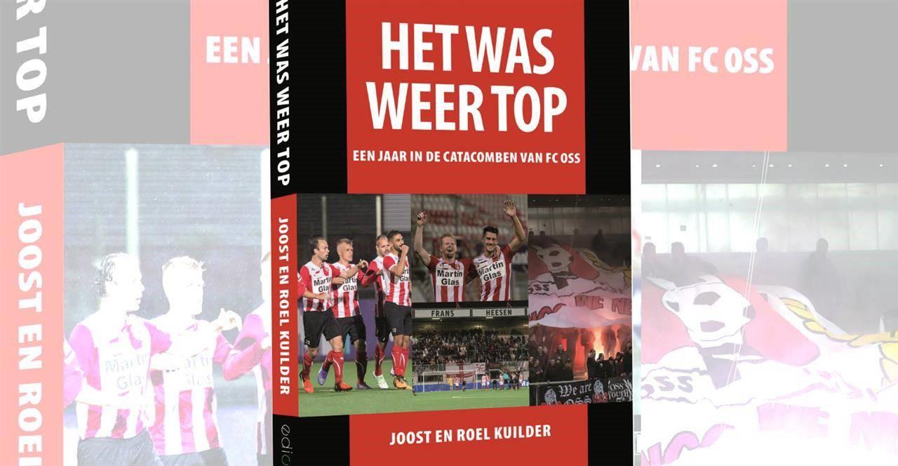 Het was weer TOP genomineerd voor Voetbalboek van het Jaar
