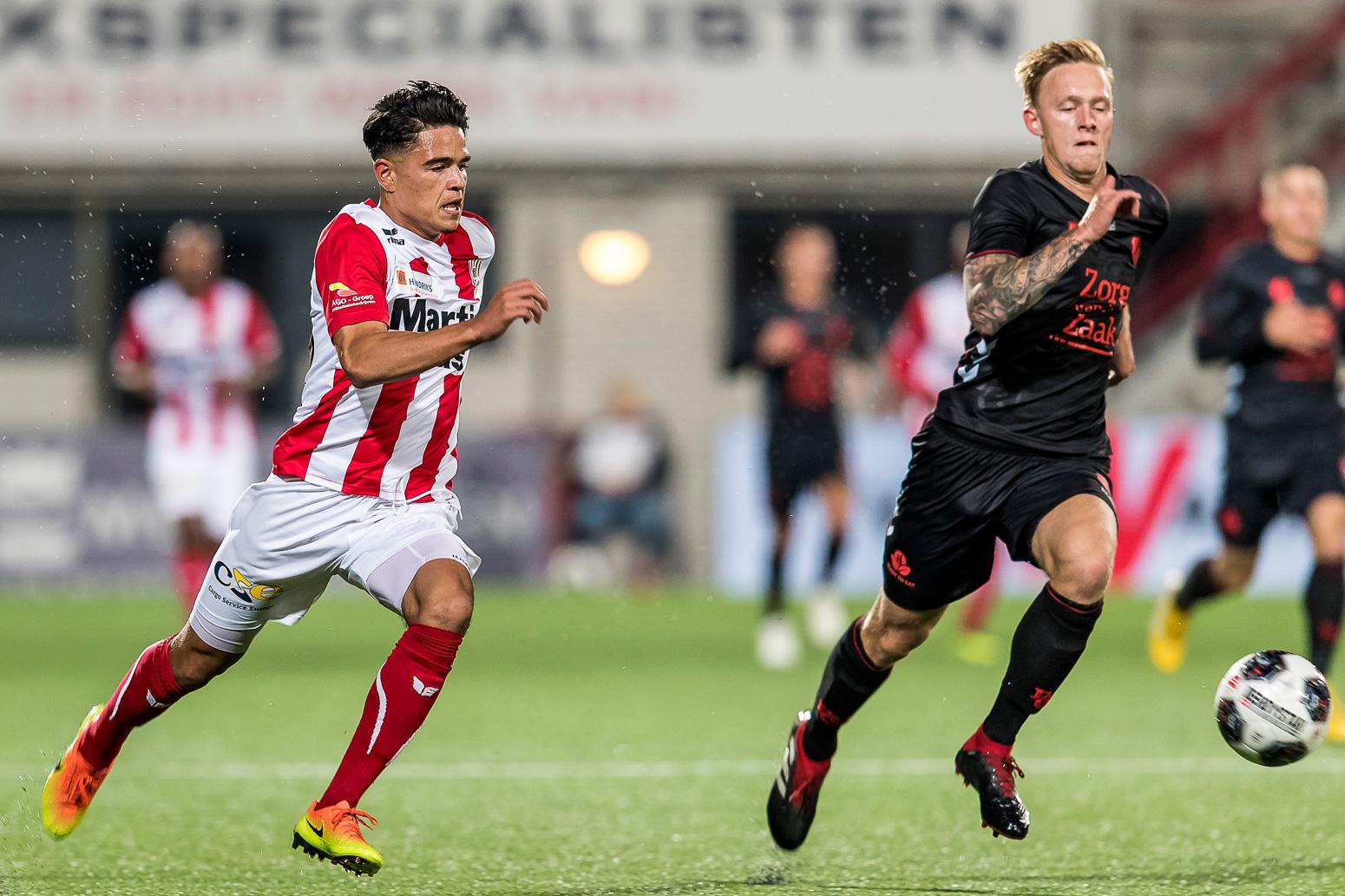 Vrij vervoer naar Jong FC Utrecht; verkoop in Oss