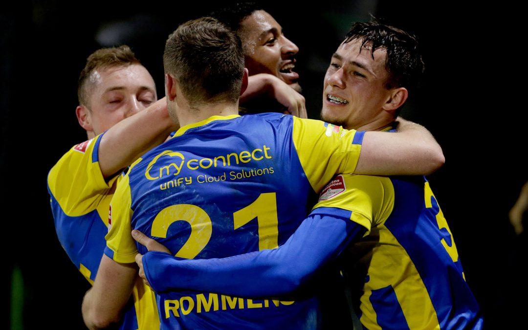 Plek acht na zege op stug Jong FC Utrecht