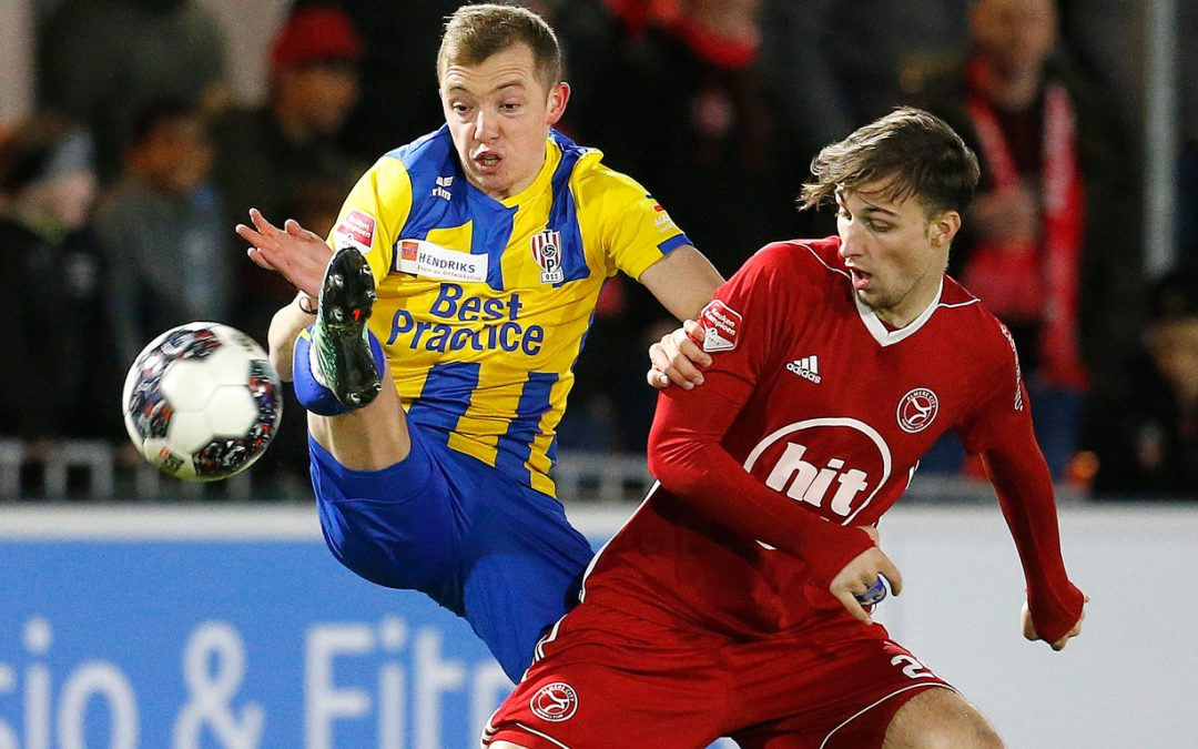 Almere City FC klopt TOP Oss in resterend uur