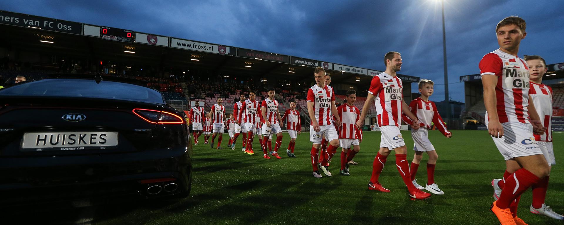 Autobedrijf Huiskes is wedstrijdsponsor tegen FC Twente