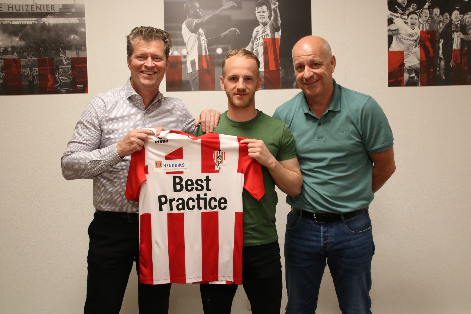 Jason Bourdouxhe versterkt TOP Oss