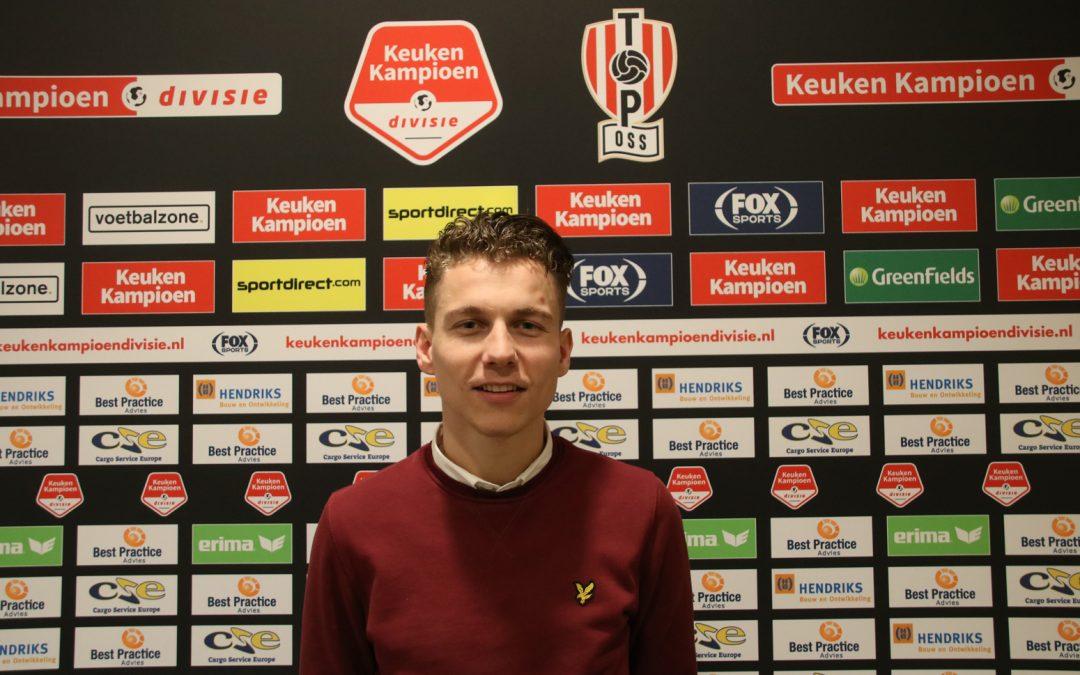 Nieuw bij TOP Oss: Jordy Veld