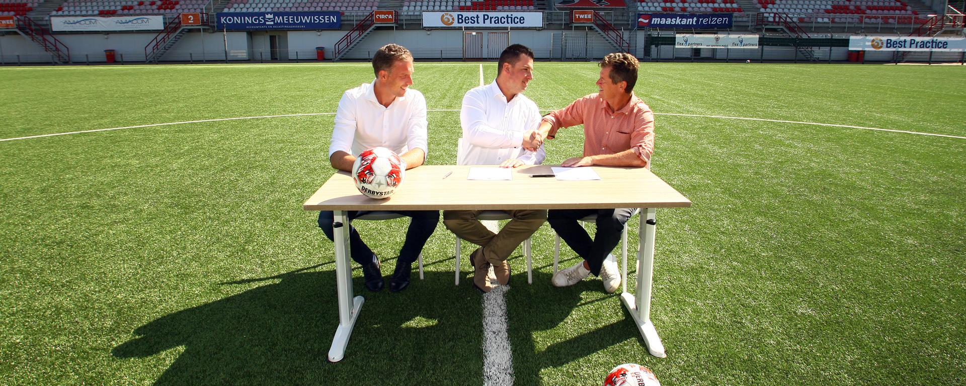 Bewakingsdienst van Mook is wedstrijdsponsor van TOP Oss – NAC Breda