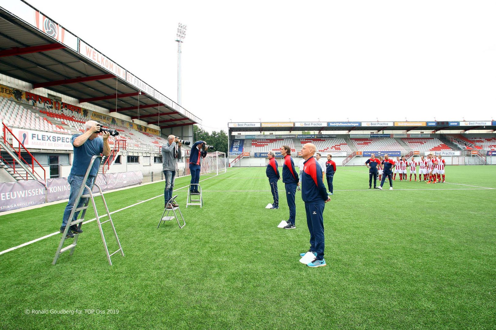 Pieter Tuns wordt assistent bij TOP Oss