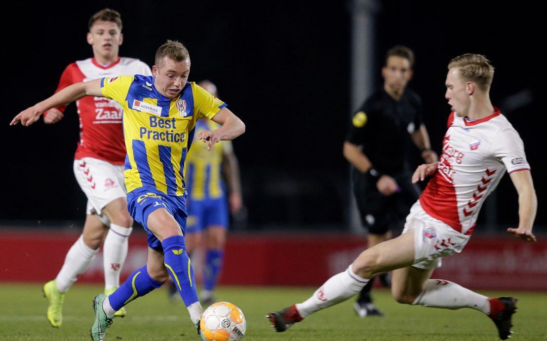 Jong FC Utrecht en TOP Oss houden elkaar in evenwicht