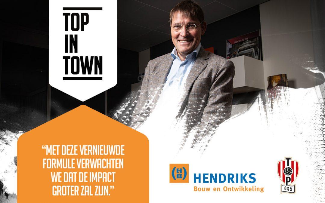 Hendriks Bouw en Ontwikkeling en TOP Oss lanceren TOP in Town