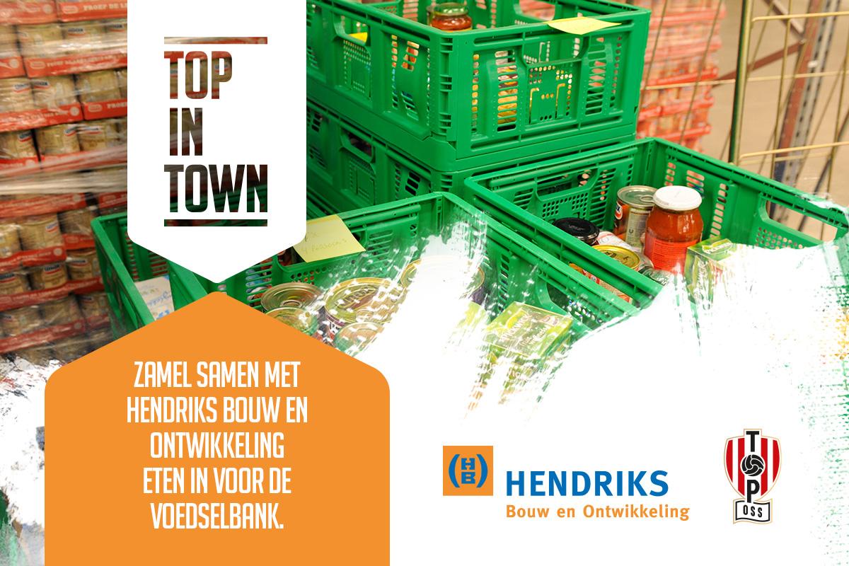 TOP in Town: in actie voor De Voedselbank