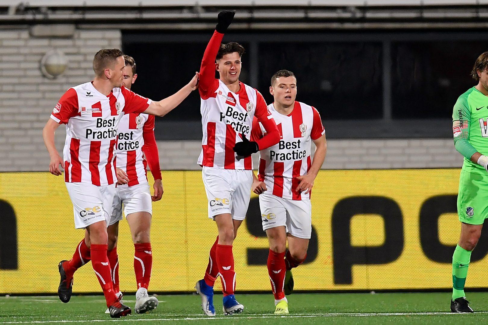 TOP Oss boekt strijdlustige zege tegen FC Eindhoven