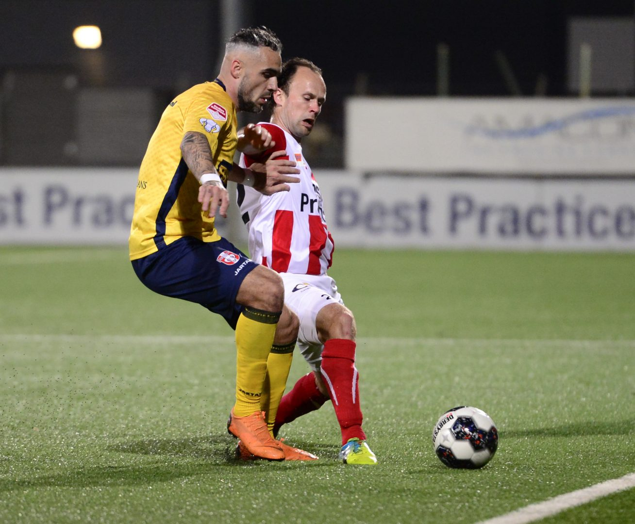 Vos Transport B.V. is wedstrijdsponsor van TOP Oss – FC Dordrecht