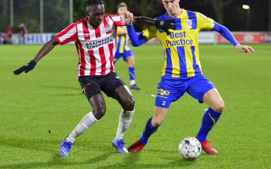 TOP Oss valt aan maar wint niet bij PSV: 1-1