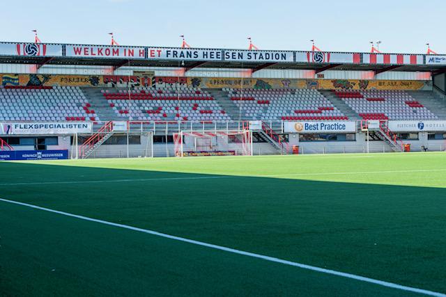 Nieuw beleid  KNVB rookvrije stadions, dus ook bij TOP Oss.