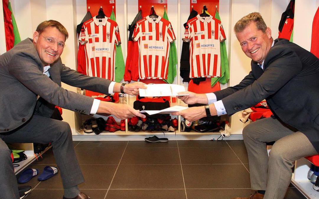 Hendriks Bouw en Ontwikkeling nieuwe hoofdsponsor TOP Oss!