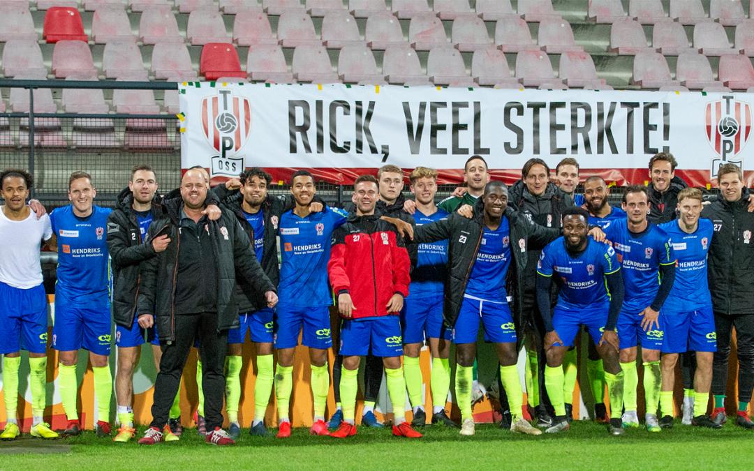 TOP Oss sluit jaar winnend af bij NEC in Nijmegen!