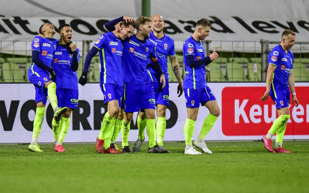 TOP Oss wint verdiend in Dordrecht: 1-3