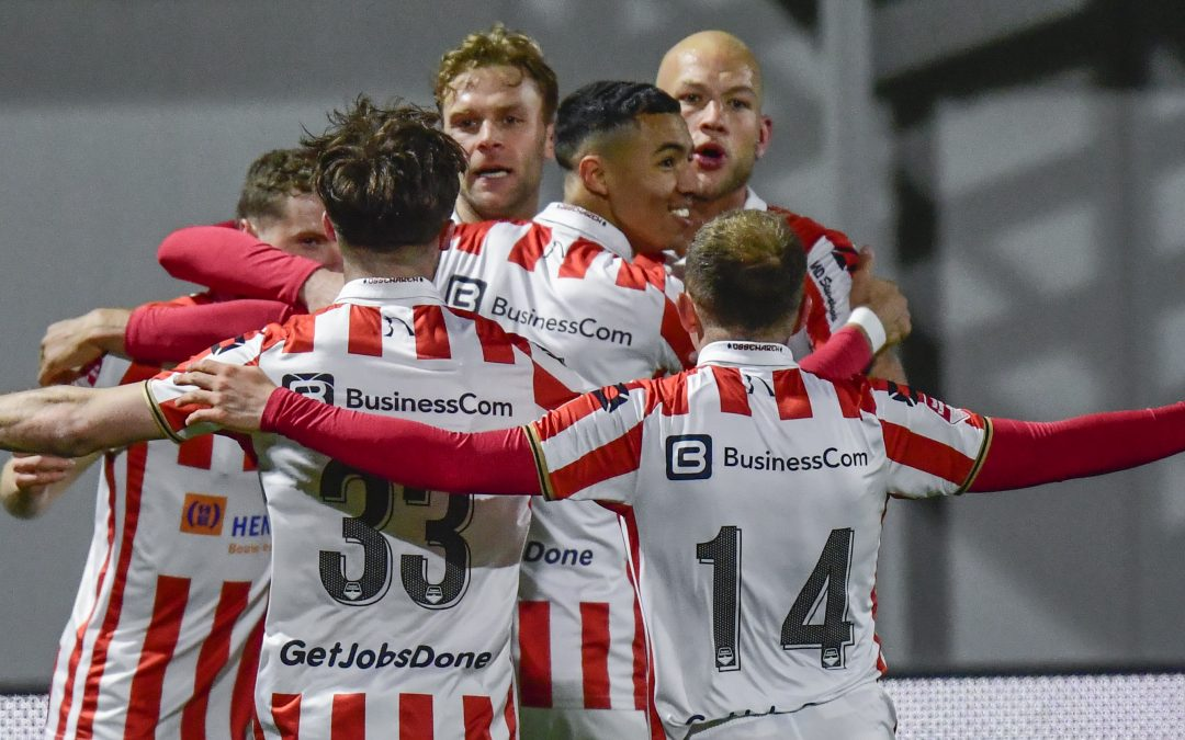 Heroïsche overwinning TOP  Oss op NEC, 2-1