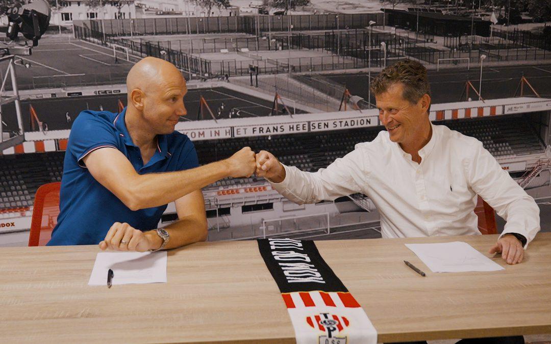Bob Peeters nieuwe hoofdcoach TOP Oss!